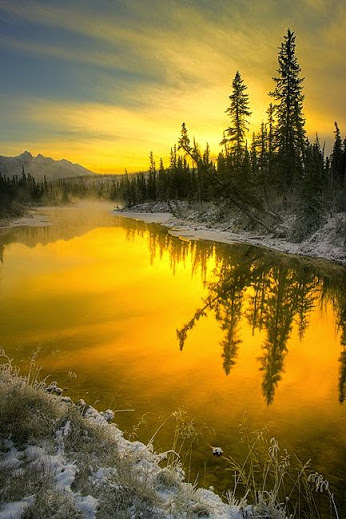 Sunrise (Jasper National Park) by Scott Dimond